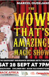 """The """"Wow, That's Amazing!"""" Magic Show'"""