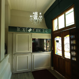 The Ticket Office Booth