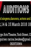 AUDITIONS : VARIéTé! VARIéTé! 12, 13 & 15 MARCH 2019